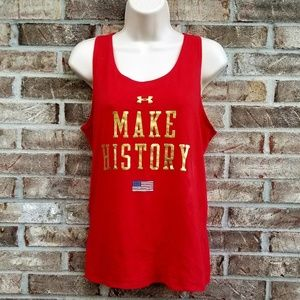 """Under Armour 》 """"Make History"""" Graphic Tank"""